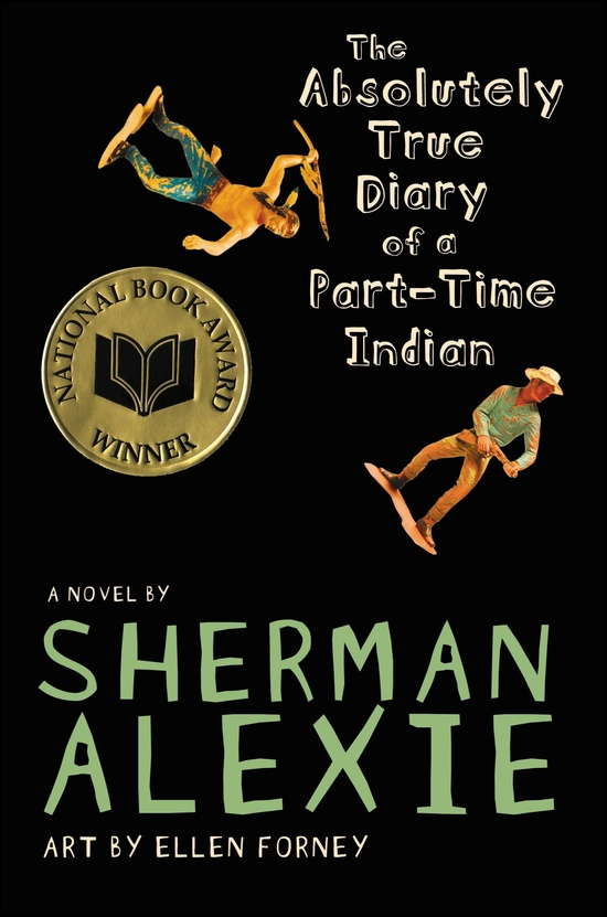 Book Review #3, The Absolutely True Diary of a Part-time Indian by ShermanAlexie